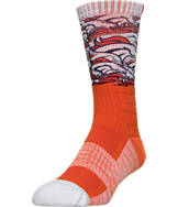 For Bare Feet Denver Broncos NFL The Show Promo Crew Socks