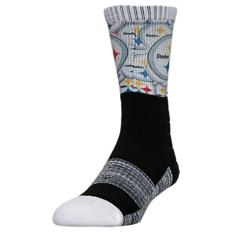 For Bare Feet Pittsburgh Steelers NFL The Show Promo Crew Socks