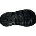 Bottom view of Girls' Toddler Nike Little Rift Training Shoes in Wolf Grey/White/Hyper Turq