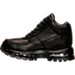 Left view of Kids' Nike Air Goadome Boots in Black