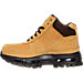 Left view of Nike Air Goadome Kids' Boot in Haystack/Baroque Brown