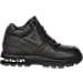 Left view of Nike Preschool Air Max Goadome in Black