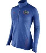 Women's Nike Florida Gators College Stadium Element Half-Zip Shirt