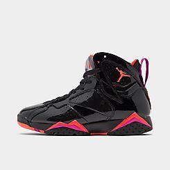 나이키 Nike Womens Air Jordan Retro 7 Basketball Shoes,Black/Bright Crimson/Anthracite/Smoke