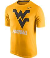 Men's Nike West Virginia Mountaineers College Legend FB Logo T-Shirt