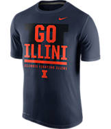 Men's Nike Illinois Fighting Illini College Legend Local T-Shirt