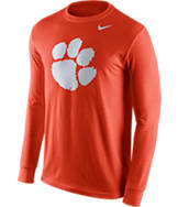 Men's Nike Clemson Tigers College Logo Long-Sleeve T-Shirt