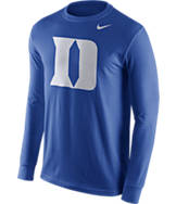 Men's Nike Duke Blue Devils College Logo Long-Sleeve T-Shirt