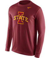 Men's Nike Iowa State Cyclones College Logo Long-Sleeve T-Shirt