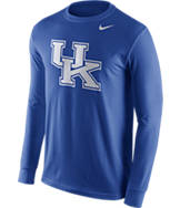 Men's Nike Kentucky Wildcats College Logo Long-Sleeve T-Shirt