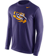 Men's Nike LSU Tigers College Logo Long-Sleeve T-Shirt