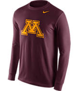 Men's Nike Minnesota Golden Gophers College Logo Long-Sleeve T-Shirt