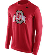 Men's Nike Ohio State Buckeyes College Logo Long-Sleeve T-Shirt