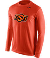 Men's Nike Oklahoma State Cowboys College Logo Long-Sleeve T-Shirt
