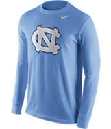 Men's Nike North Carolina Tar Heels College Logo Long-Sleeve T-Shirt