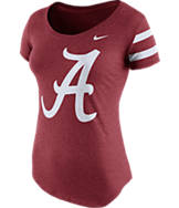 Women's Nike Alabama Crimson Tide College DNA Scoopneck T-Shirt