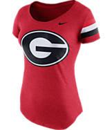 Women's Nike Georgia Bulldogs College DNA Scoopneck T-Shirt