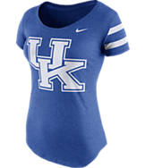 Women's Nike Kentucky Wildcats College DNA Scoopneck T-Shirt