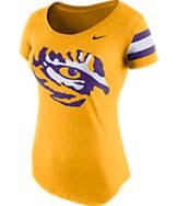 Women's Nike LSU Tigers College DNA Scoopneck T-Shirt