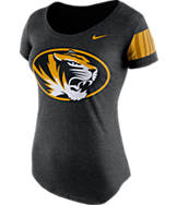 Women's Nike Missouri Tigers College DNA Scoopneck T-Shirt