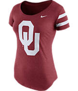 Women's Nike Oklahoma Sooners College DNA Scoopneck T-Shirt