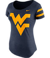 Women's Nike West Virginia Mountaineers College DNA Scoopneck T-Shirt