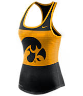 Women's Nike Iowa Hawkeyes College DB Mesh Tank