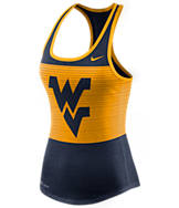 Women's Nike West Virginia Mountaineers College DB Mesh Tank