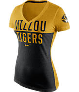 Women's Nike Missouri Tigers College Chop Block T-Shirt
