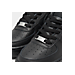 Front view of Boys' Grade School Nike Air Force 1 Low Casual Shoes in Black