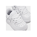 Front view of Boys' Toddler Nike Air Force 1 Low Casual Shoes in White