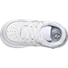 Top view of Boys' Toddler Nike Air Force 1 Low Casual Shoes in White