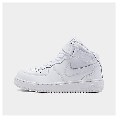 Kids' Preschool Nike Air Force 1 Mid Basketball Shoes