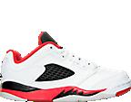 Boys' Preschool Air Jordan Retro 5 Low Basketball Shoes