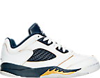 Boys' Preschool Air Jordan Retro 5 Low Basketball Shoes