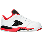 Boys' Toddler Air Jordan Retro 5 Low Basketball Shoes