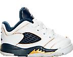 Boys' Toddler Air Jordan Retro 5 Low Basketball Shoes