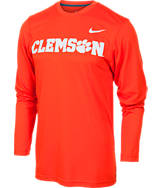 Men's Nike Clemson Tigers College Dri-FIT Touch Long-Sleeve Shirt