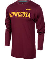 Men's Nike Minnesota Golden Gophers College Dri-FIT Touch Long-Sleeve Shirt