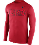 Men's Nike Mississippi Rebels College Dri-FIT Touch Long-Sleeve Shirt