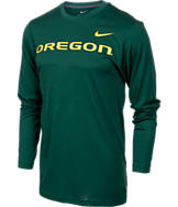 Men's Nike Oregon Ducks College Dri-FIT Touch Long-Sleeve Shirt
