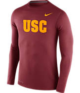 Men's Nike USC Trojans College Dri-FIT Touch Long-Sleeve Shirt