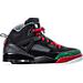 Black/Varsity Red/Classic Green
