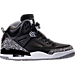 Right view of Men's Air Jordan Spizike Off-Court Shoes in Black/Varsity Red/Cement Grey
