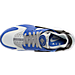 Top view of Men's Nike Air Huarache Run Running Shoes in Comet Blue/Matte Silver