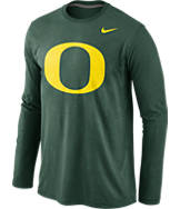 Men's Nike Oregon Ducks College Long Sleeve Triblend T-Shirt