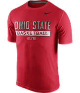 Men's Nike Ohio State Buckeyes College Basketball Practice T-Shirt