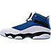 Left view of Men's Jordan 6 Rings Basketball Shoes in Team Royal/Black/White