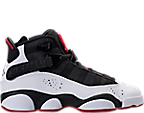 Boys' Grade School Jordan 6 Rings Basketball Shoes