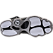 Bottom view of Boys' Grade School Jordan 6 Rings Basketball Shoes in Black/Matte Silver/White